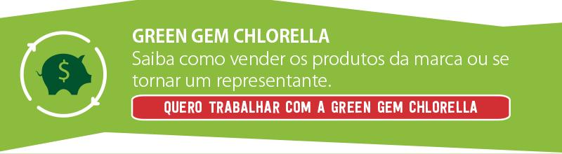 CTA Trabalhar com a Chlorella Green Gem